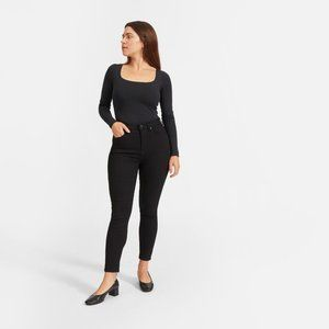 NWOT New Everlane Curvy High Rise Skinny 29 Crop 8